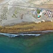 Los Balos El Medano Stitched Panorama