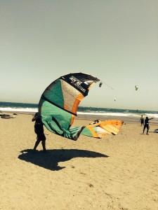 Kitesurfing in El Medano